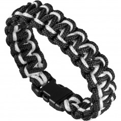 Wristband Cobra White/Black