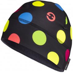 Čepice ELEVEN MATTY Dots Color Black