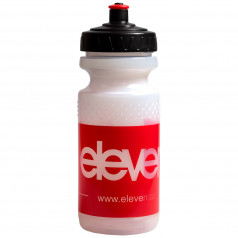 PLASTIC BOTTLE ELEVEN Red