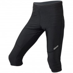 3/4 running pants Black Reflex