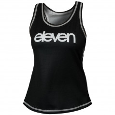 Running singlet Anne Micro ELEVEN Black