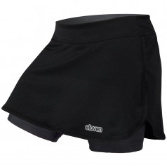 Running skirt Eleven Black Reflex