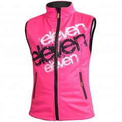 Softshell vest Eleven Pink