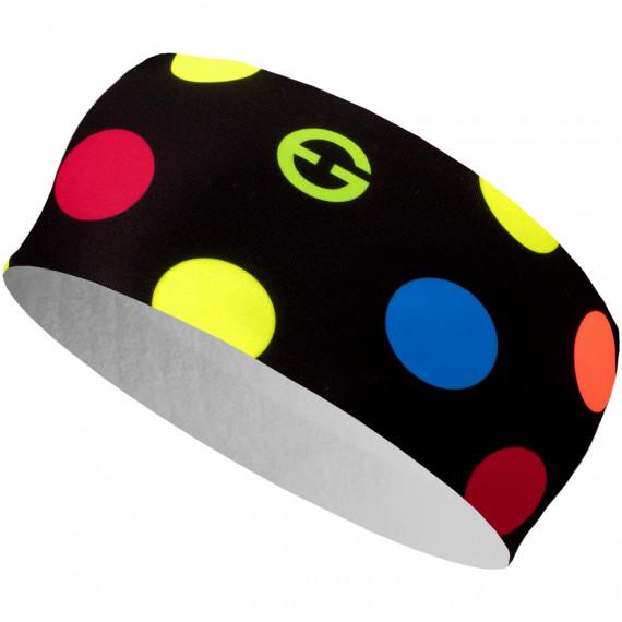 Headband ELEVEN HB Dolomiti Dots Color Black - ELEVEN sportswear ff2ce0c5c4