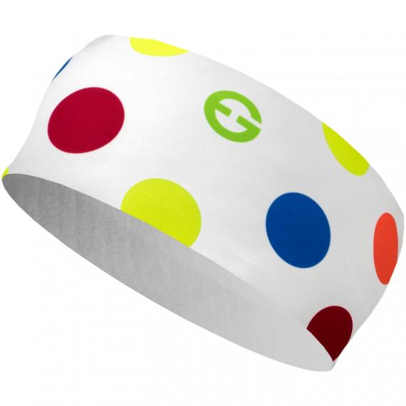 3c5de8e7013 Čelenka ELEVEN HB Dolomiti Dots Color White - ELEVEN sportswear