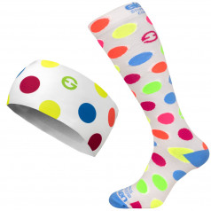 Set Dots Color White