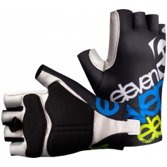 Cyklistické rukavice ELEVEN Fluo Black