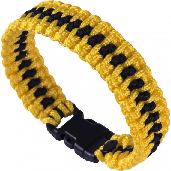 Paracord náramek Flash Black/Yellow