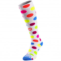 Compression socks Eleven Dots White