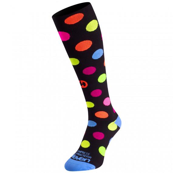 Compression socks Eleven Dots Black