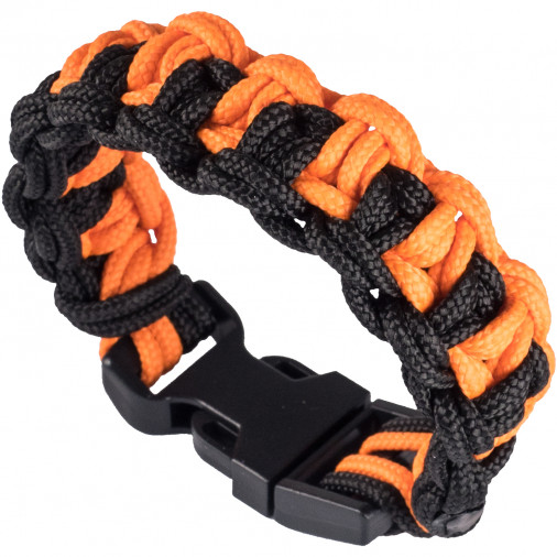 Paracord náramek Flash Black/Yellow