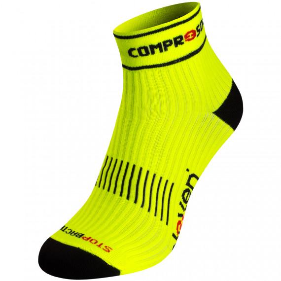 Kompresní ponožky ELEVEN Luca Compress Fluo