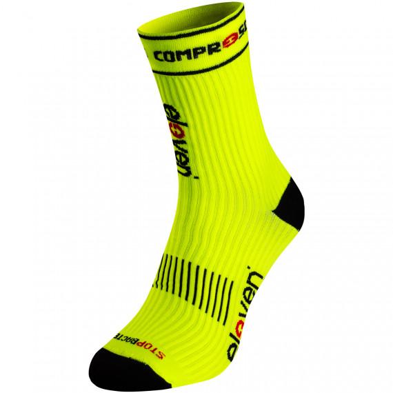 Compression socks Eleven Suuri Fluo