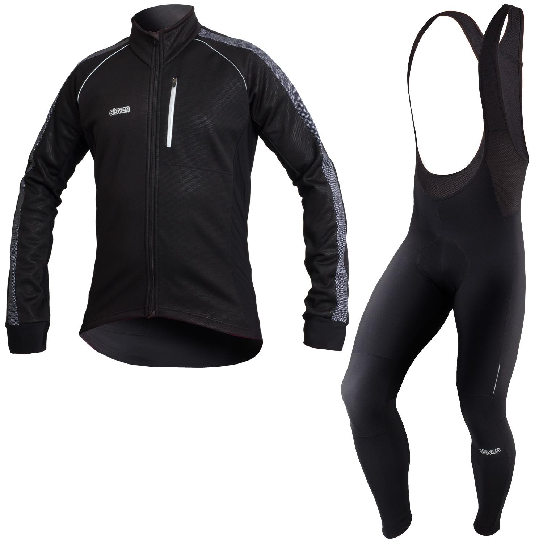 d6e9dc56eba92 Pánský cyklistický set Combi Thermo Reflex - ELEVEN sportswear