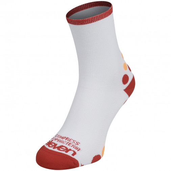 Kompresní ponožky Solo White