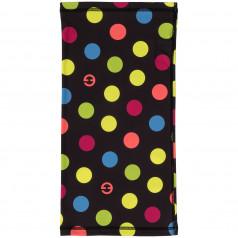 Multifunctional scarf Eleven Dots Color Black