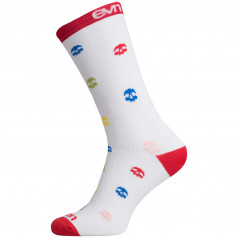 Ponožky Eleven Suuri + Skull White