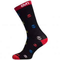 Ponožky Eleven Suuri + Skull Black