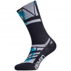 Socks Eleven Suuri+ Skull Turquoise