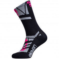 Socks Eleven Suuri+ Skull Pink