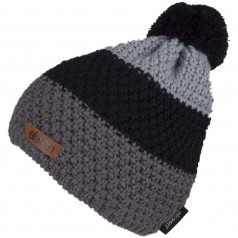 Knitted beanie Eleven POM Black
