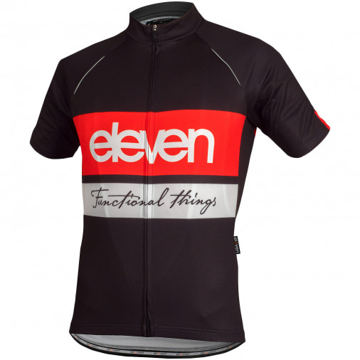 Cycling jersey Eleven Horizontal Red