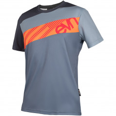 T-SHIRT John Stripes Grey