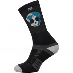 Socks SUBA Skull Black