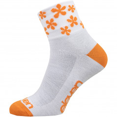 Socks Eleven Howa Flower Orange