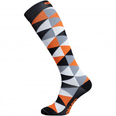 Compression socks Eleven Triangle Orange