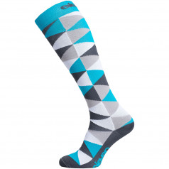 Compression socks Eleven Triangle Blue