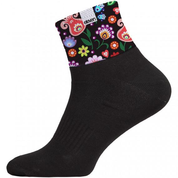 Ponožky HUBA Folklor