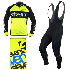 Men's cycling pack HORIZONTAL Combi Fluo F11