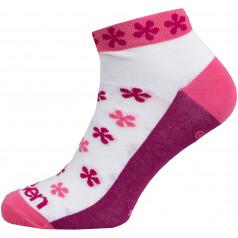 Socks Eleven Luca Flower Pink