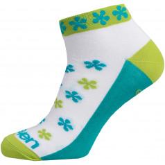 Ponožky ELEVEN LUCA FLOWER Green