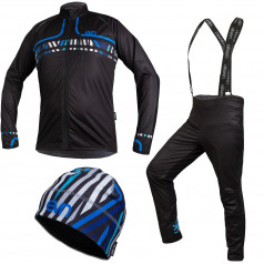 Cross-country skiing set Line Blue