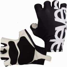 Cycling gloves Eleven Black/White
