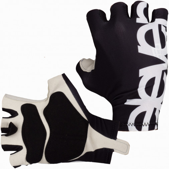Cyklistické rukavice ELEVEN Black/White