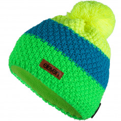 Knitted beanie Eleven POM Fluo