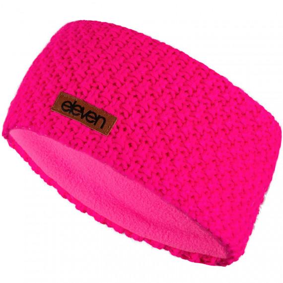Pletená čelenka Eleven Pink