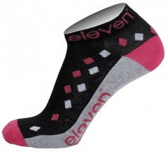 Ponožky ELEVEN LUCA RHOMB violet