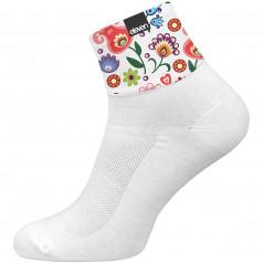 Ponožky HUBA Folk