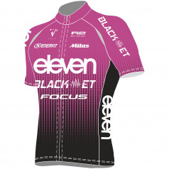 Cycling jersey ELEVEN BlackET Team