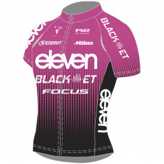 Cycling jersey ELEVEN BlackET Team Lady