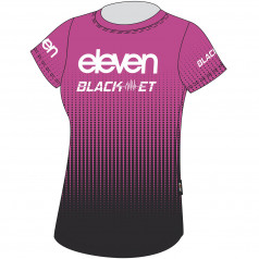 T-shirt Eleven BlackET Team Lady