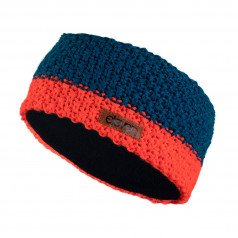 Knitted headband Eleven Blue/Orange Kids