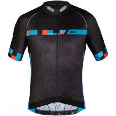 Cycling jersey Eleven Pro Black