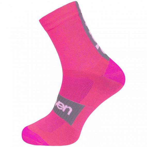 Ponožky ELEVEN SUURI+ Akiles Pink