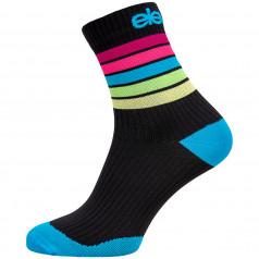 Compression socks  Strada Stripe Black