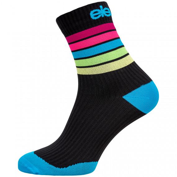 Kompresní ponožky Strada Stripe Black